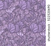 seamless pattern with hand... | Shutterstock .eps vector #522520690