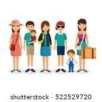 summer vacations holiday poster | Shutterstock .eps vector #522529720