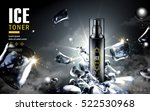 ice toner ad  contained in... | Shutterstock .eps vector #522530968