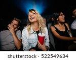 indoor shot of smiling young... | Shutterstock . vector #522549634