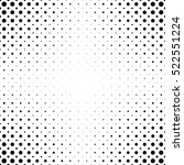 black and white dot pattern... | Shutterstock .eps vector #522551224