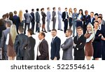 business group stand in a... | Shutterstock . vector #522554614