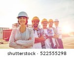 business  building  teamwork... | Shutterstock . vector #522555298