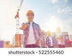 business  building  teamwork... | Shutterstock . vector #522555460
