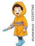 illustration of a cute little...   Shutterstock .eps vector #522557560