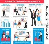 business training infographics... | Shutterstock .eps vector #522557983