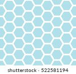abstract geometric blue graphic ... | Shutterstock .eps vector #522581194