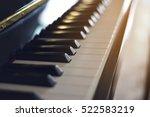 The Black Piano  Selective Focus