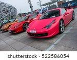 beijing   sep 11  2011  ferrari ... | Shutterstock . vector #522586054