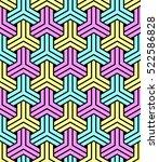 vector seamless pattern.... | Shutterstock .eps vector #522586828