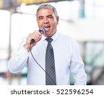 Mature Man Singing