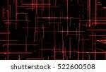 3d rendering abstract... | Shutterstock . vector #522600508