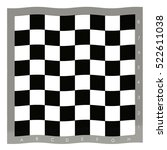 empty chess board. | Shutterstock . vector #522611038