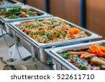 food wedding catering  | Shutterstock . vector #522611710