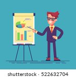 confident young man standing... | Shutterstock .eps vector #522632704