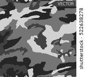 vector camouflage pattern... | Shutterstock .eps vector #522638278