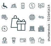 set of 16 transportation icons. ...
