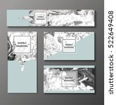 business cards  cover  banner ... | Shutterstock .eps vector #522649408
