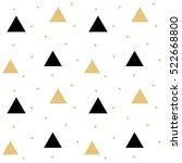gold black scandinavian...   Shutterstock .eps vector #522668800