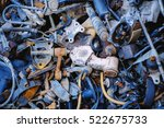 out of service spare parts car  ... | Shutterstock . vector #522675733