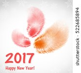 abstract background with feather   Shutterstock .eps vector #522685894