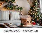 Homemade Gingerbread House On...