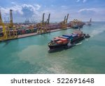 Container Ship In Import Expor...