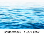 blue sea water background | Shutterstock . vector #522711259