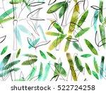 Bamboo Seamless Pattern  Hand...