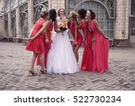 wedding concept   the bride and ... | Shutterstock . vector #522730234