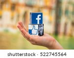 minsk  belarus   november 25 ... | Shutterstock . vector #522745564