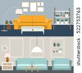 set of flat elements for... | Shutterstock .eps vector #522753763