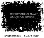 grunge frame   abstract texture....   Shutterstock .eps vector #522757084