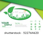ecology connection  concept... | Shutterstock .eps vector #522764620