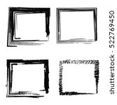 set of abstract photo frames ... | Shutterstock .eps vector #522769450