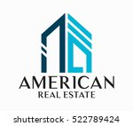 real estate  building ... | Shutterstock .eps vector #522789424