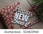 new year's design | Shutterstock . vector #522823960