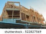 wood construction  resistant... | Shutterstock . vector #522827569