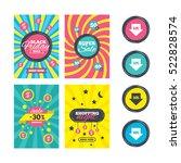 sale website banner templates.... | Shutterstock . vector #522828574
