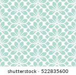 seamless abstract floral... | Shutterstock .eps vector #522835600