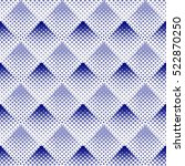 halftone background seamless... | Shutterstock .eps vector #522870250