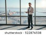 portrait of a mature... | Shutterstock . vector #522876538