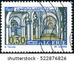 algeria   circa 1970  a stamp... | Shutterstock . vector #522876826
