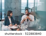 group of successful... | Shutterstock . vector #522883840