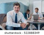 portrait of a confident mature... | Shutterstock . vector #522888349