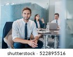portrait of a confident young... | Shutterstock . vector #522895516