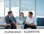 group of successful... | Shutterstock . vector #522895576