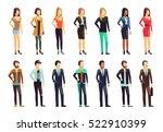 flat style modern people in...   Shutterstock .eps vector #522910399