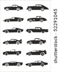 Stock vector car silhouette 52291045