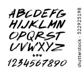 graphic font for your design.... | Shutterstock .eps vector #522925198